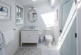 Gray And White Bathroom Rugs White And Blue Cottage Bathroom With Gray Quatrefoil Bath Rug