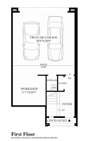 Floor Plans In Spanish by The Villages At Aviano The Lucca Home Design