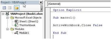 close a workbook using vba in microsoft excel microsoft excel