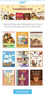 epic books thanksgiving books added get month free