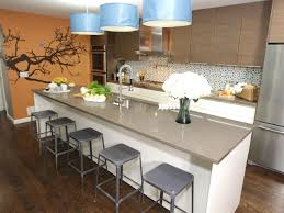 kitchen island bar stools interior dark ripping breakfast