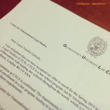 Awesome College Acceptance Letter 11 Awesome College Acceptance Letters Shared In Instagram