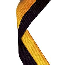 black and gold ribbon ribbons archives sheffield trophy centre