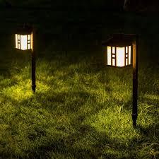 Outdoor Landscape Lights Shop For Gigalumi Solar Powered Path Lights Solar Garden Lights