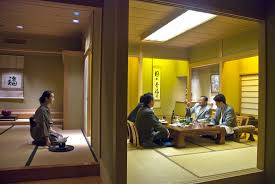 traditional japanese dinner table traditional nakato