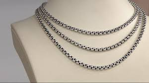 round chain necklace images Jai sterling silver round box chain necklace 47 5g page 1 jpeg