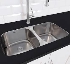 stainless steel double bowl undermount sink ancona capri series stainless steel 32 3 x 32 23 double bowl
