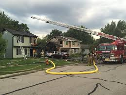 two house destroys one naperville house badly damages another
