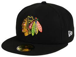 nw era chicago blackhawks new era nhl basic 59fifty cap lids