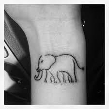 21 best elephant wrist tattoo images on pinterest wrist tattoo