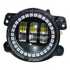 4 inch round led lights flashtech 4030 led fog l assemblies 4 round with fusion v 3