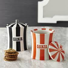 ganja orange and canister modern dining jonathan adler