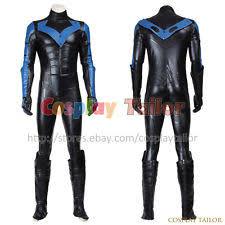 Batman Arkham Halloween Costumes Nightwing Costume Ebay