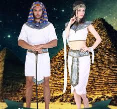Egyptian Pharaoh Halloween Costume Men Women Pharaoh Egypt Cosplay Sell Male Female
