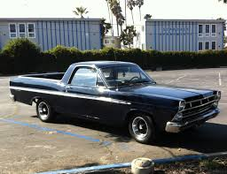 Chevy Malibu 60s This Mid U002760s Ford Ranchero Looks Right At Home In Front Of