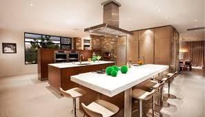 Living Room With Kitchen Design Decoration Living Room Kitchen Design And Open Plan Interior