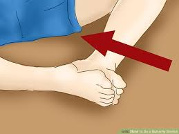 how to do a butterfly stretch 7 steps with pictures wikihow