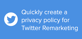 Privacy Policy Twitter Ads Remarketing Privacy Policy Iubenda Blog