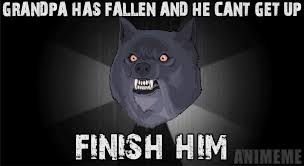 Meme Courage Wolf - insanity wolf christmas meme festival collections