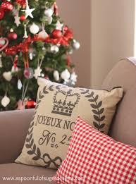 christmas cushions a spoonful of sugar