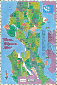 seattle map seattle neighborhood map map of seattle neighborhoods