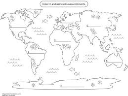a map of best 25 map of continents ideas on continents