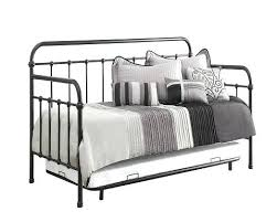 White Metal Daybed With Trundle White Metal Daybed With Trundle White Metal Day Bed With Trundle