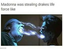 Drake No New Friends Meme - madonna suffers backlash for coachella kiss with drake as the