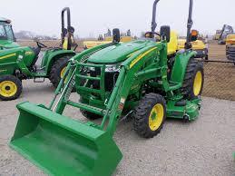 john deere 1025r compact tractor with h120 loader john deere