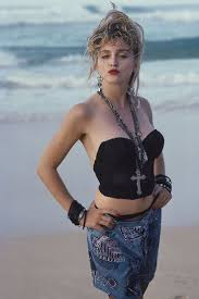 madonna photographed by herb ritts 1985 desert lily vintage