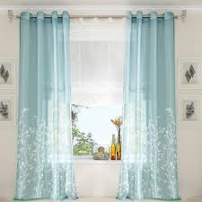 amazon com uphome 1 pair wavy leaves vine window sheer curtain