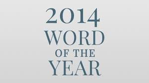 of the 2014 word of the year the merriam webster