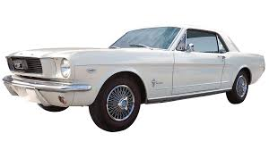 automobile 1966 ford mustang coupe wimbledon white standard