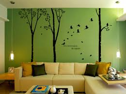 wall decals stickers home decor home furniture diy hand carving birch tree forest bird room art wall stickers decor uk rui184