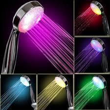 home lighting terrific led shower light lowes led meteor