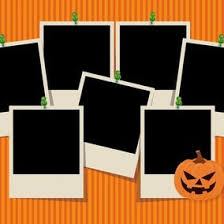 cute halloween photo collage template 10335 dryicons