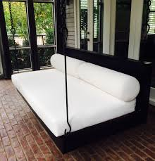 Trampoline Hanging Bed by Outdoor Porch Bed Swing Beds Decoration