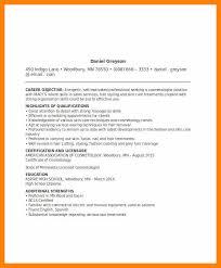 Resume Templates Spanish 11 Cosmetology Resume Templates Resign Latter