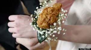 corsage for prom now you can go to prom with a fried chicken corsage huffpost