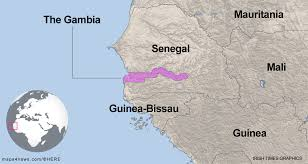 Dakar Senegal Map Senegal Troops Enter Gambia As Ruler Refuses To Step Down