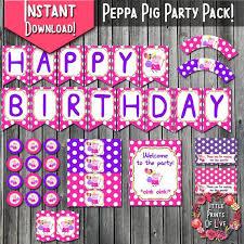 peppa pig party supplies více než 25 nejlepších nápadů na pinterestu na téma peppa pig