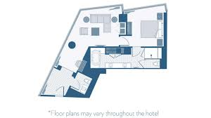 Monte Carlo Spa Suite Floor Plan by Aria Corner Suite Review The Sterling Traveler