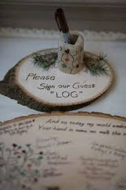 Rustic Wedding Guest Book 12 Rustic Wedding Ideas From Etsy Woods Etsy And Wedding