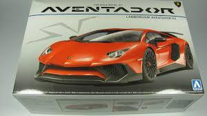 lamborghini aventador lp 750 4 superveloce lamborghini aventador lp750 4 sv aoshima car model kit com