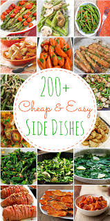 200 cheap u0026 easy side dishes prudent penny pincher