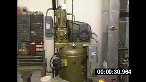 quincy 325 air compressor baldor motor installation part 2 its