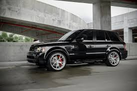range rover black rims 2011 range rover sport supercharged on 22