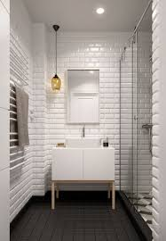 Plain Bathrooms Awe Inspiring White Tile Bathroom Plain Ideas 15 Must Home Designing