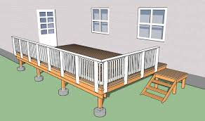 What Is A Banister On Stairs by How To Build Deck Stair Railings Howtospecialist How To Build