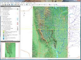 Isu Map Mapwindow Gis Wikipedia